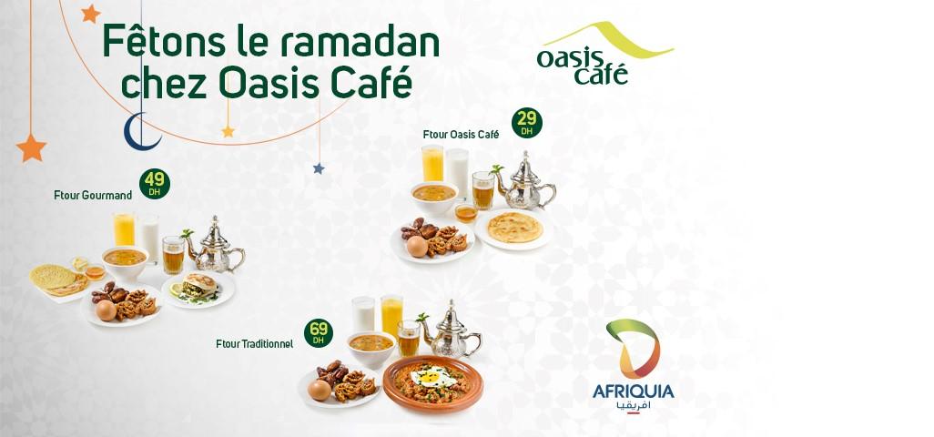 Offre Oasis café Ramadan