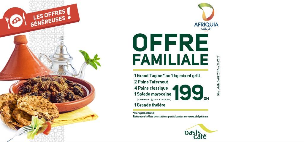 Offre 1 février Oasis café